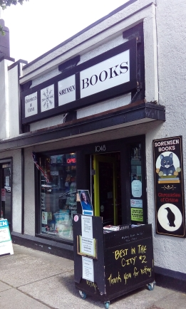 Sorensen Books and Chronicles of Crime, Victoria, B.C.