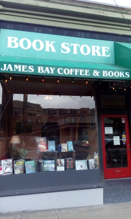 James Bay Coffee and Books, Victoria, B.C.
