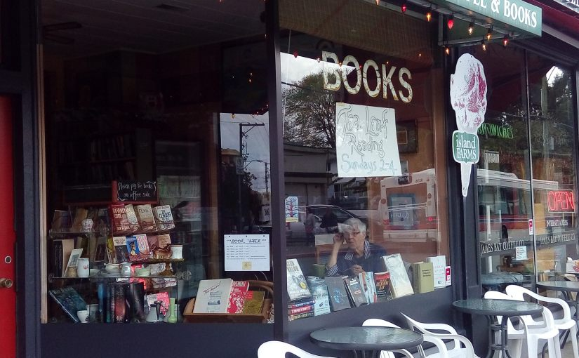 Crawling Bookstores in Victoria, BC