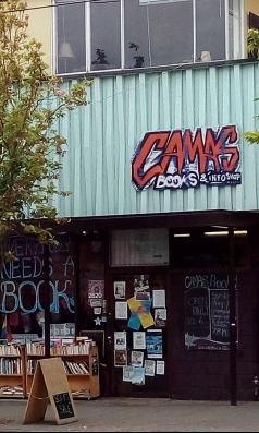 Camas Bookstore, Victoria, B.C.
