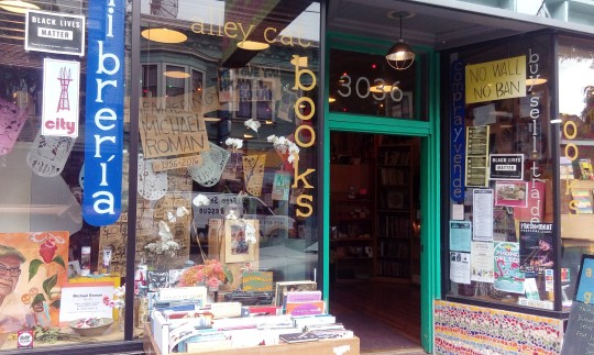Alley Cat Bookstore in the Mission