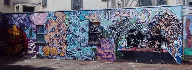 Murals in the Mission District