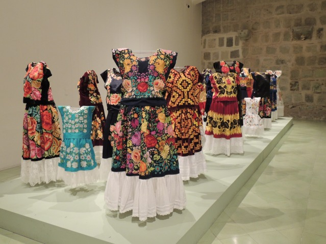 Traditional textiles in Oaxaca