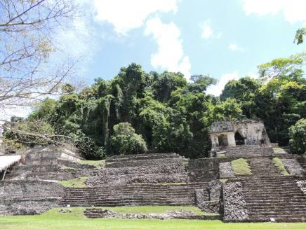Palenque excavation site // Ausgrabungsstätte in Palenque